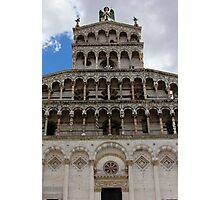Lucca Cathedral Photographic Print