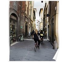 Lucca street Poster
