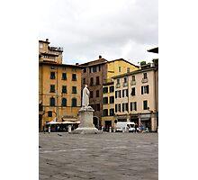 Lucca square Photographic Print