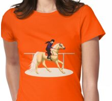 Palomino Racehorse Womens Fitted T-Shirt