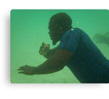 Underwater Dance  Canvas Print