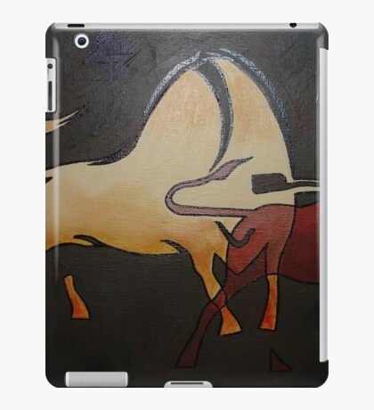 Bullfight 1 iPad Case/Skin