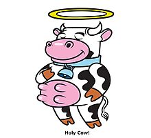 Holy Cow! Photographic Print