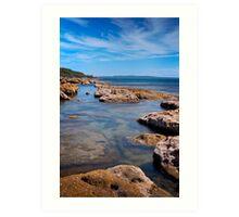 Honeymoon Bay, NSW, Australia Art Print