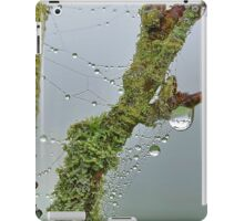 Moss and Dew Drops iPad Case/Skin