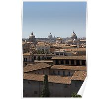 Rome, Domes Poster