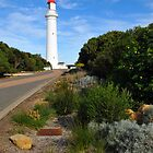 Split Point Lighthouse. Aireys Inlet, Victoria, Australia. (1891) by Ralph de Zilva