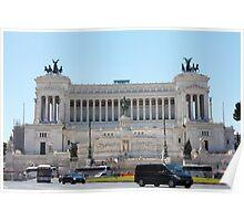 Monumento Nazionale a Vittorio Emanuele II Poster