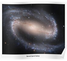 Barred Spiral Galaxy Series III Poster