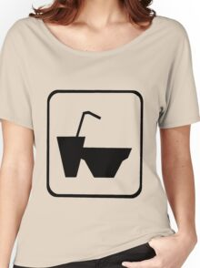 Snack Time - Cup and Bowl Women's Relaxed Fit T-Shirt