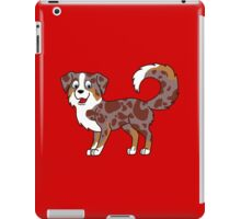 Red Merle Australian Shepherd iPad Case/Skin