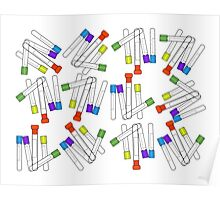 Lab Blood Collection Tubes Poster