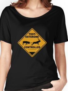Testosterone controlled Women's Relaxed Fit T-Shirt
