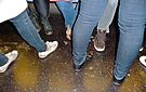 FRIDAY NIGHT ON A DOWNTOWN 6 TRAIN.... by cammisacam