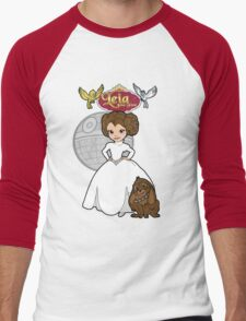 A Forceful Princess Men's Baseball ¾ T-Shirt