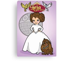 A Forceful Princess Canvas Print