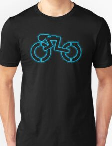 Grid Cyclist (halftone) T-Shirt