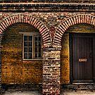 Old Doorway by Great North Views