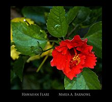 Hawaiian Flare - - Posters & More by Maria A. Barnowl