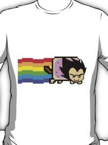 Vegeta Nyan Cat T-Shirt