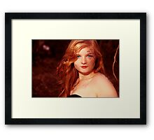 even the sun couldn't warm my soul Framed Print