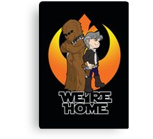 Home at Last Canvas Print