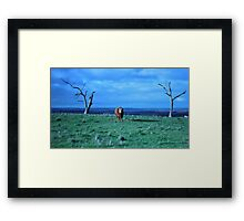 Tough Goalie Framed Print
