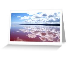 Broome reflections Greeting Card