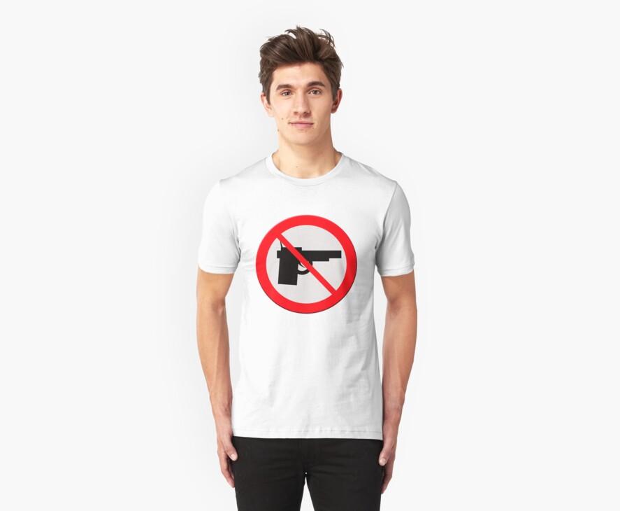 "Sign ""No guns"" by stuwdamdorp"