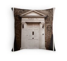 Winterbrook House - Home of Dame Agatha Christie Throw Pillow