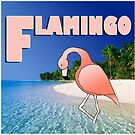 Alphabet ZOO - FLAMINGO by Koekelijn