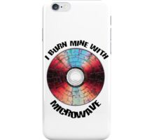 How To Burn A DVD using Microwave T-Shirt iPhone Case/Skin