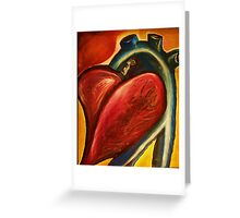 The heart of nursing Greeting Card
