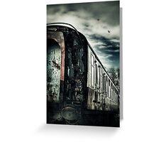 Last Train Greeting Card