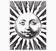 Vintage sun illustration One Piece - Short Sleeve