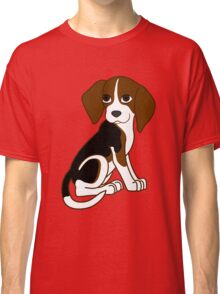 Cute Beagle Puppy Classic T-Shirt
