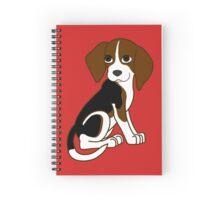 Cute Beagle Puppy Spiral Notebook
