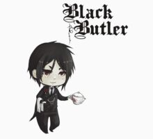 Black Butler - Sebastian Kids Clothes