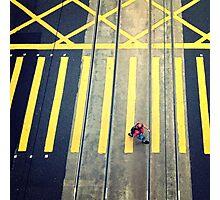 Pedestrian, Hong Kong Photographic Print
