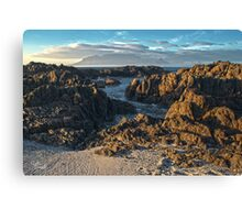 View Of Table Mountain Canvas Print