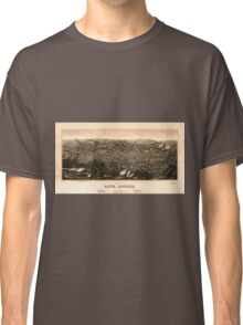 Panoramic Maps view of Butte Montana 1904 Classic T-Shirt
