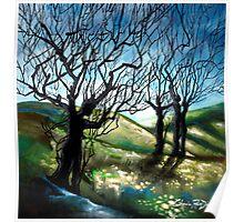 Tree Figures Poster