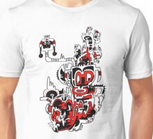 Red white & Black No.1 Unisex T-Shirt