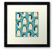 Happy penguins Framed Print