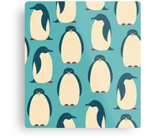 Happy penguins Metal Print