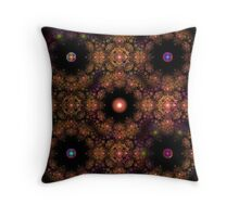 Spheres Of Destiny Throw Pillow