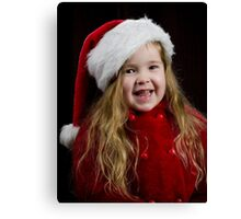 Miss Clause Canvas Print