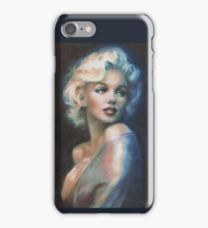 MM  WW blue iPhone Case/Skin