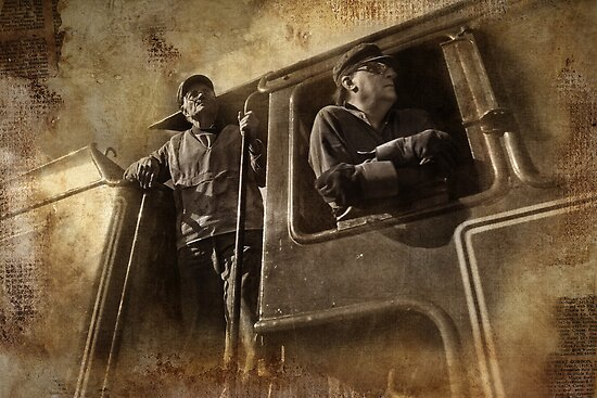 Workin' on the Railroad - Steamranger 2012 by Barb Leopold
