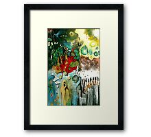 'Resurrection' - Muse (No. 7 in the Rock Music Art Series) Framed Print